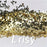 3mm Butterfly Shaped Champagne Gold Glitter B0212