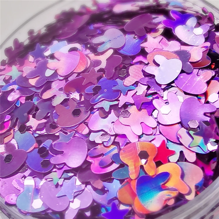 Custom Mixed Glitter Powder 032