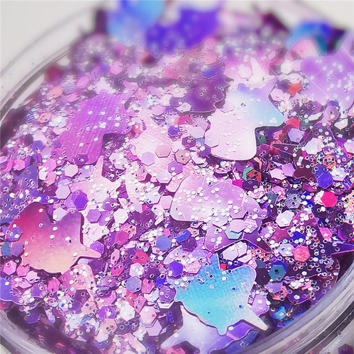 Custom Mixed Glitter Powder 036