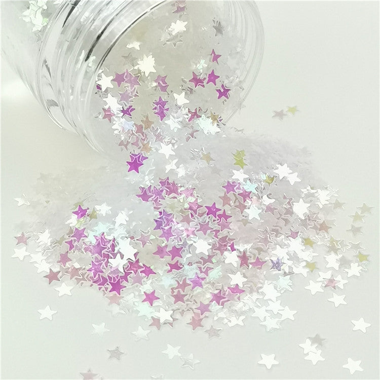 Stars Shapes Dream Pink Glitter 003