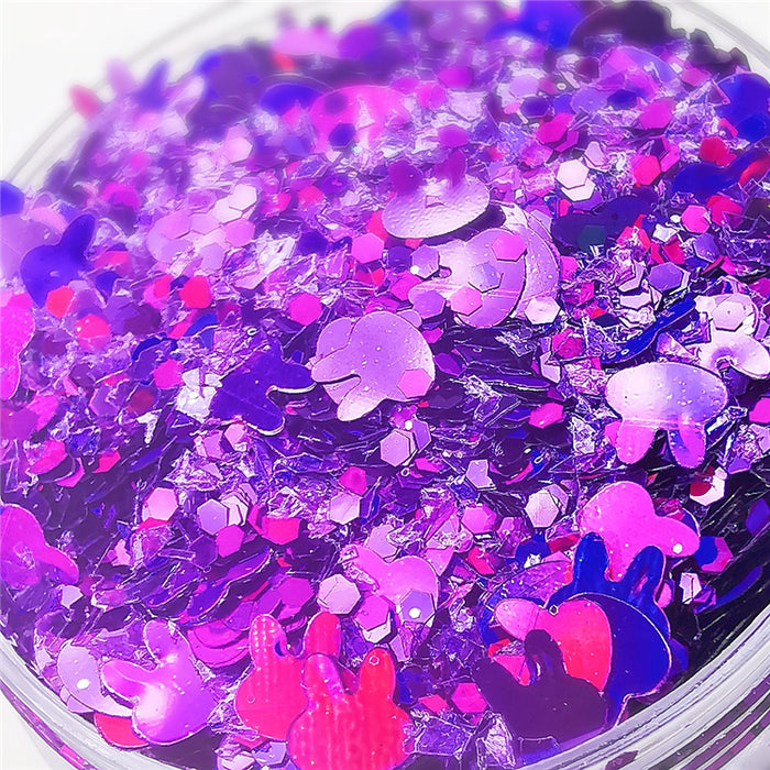 Custom Mixed Glitter Powder 046