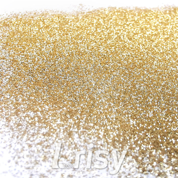 0.2mm Hexagon Shapes Champagne Gold Glitter