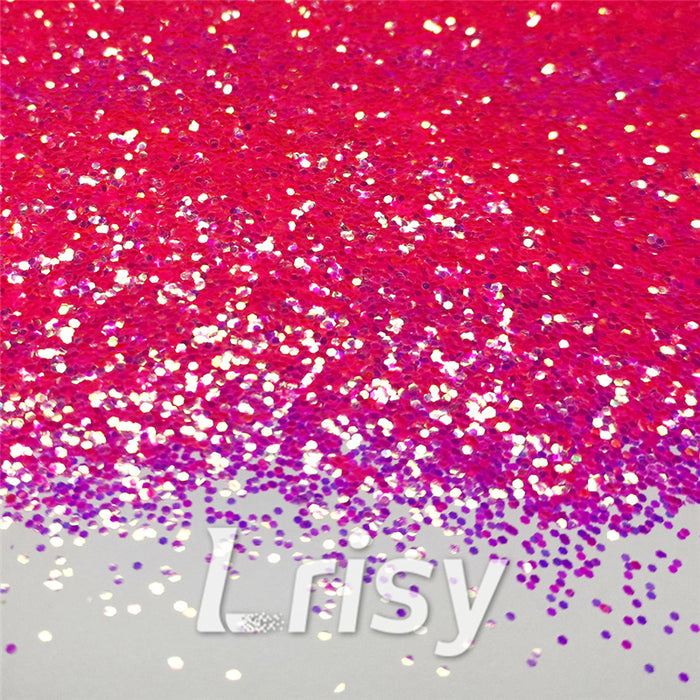 1mm Hexagon Shaped Iridescent Glitter FC339