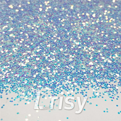1mm Hexagon Shaped Iridescent Glitter FC321