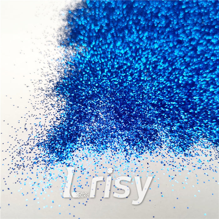 0.2mm hexagon blue cosmetic grade biodegradable glitter in bulk BIO007