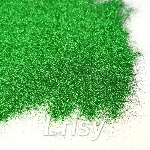 0.2mm hexagon green cosmetic grade biodegradable glitter in bulk KJJ006
