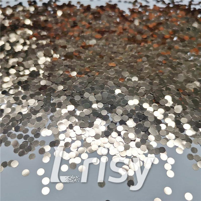 3mm Round Shaped Matallic Sand Gold Glitter B0213