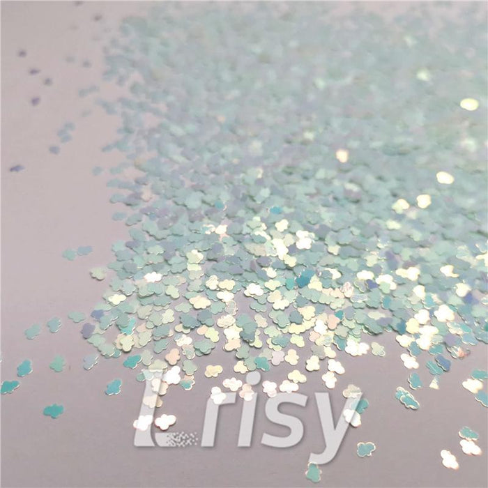 Cloud Ice Blue Glitter C021R