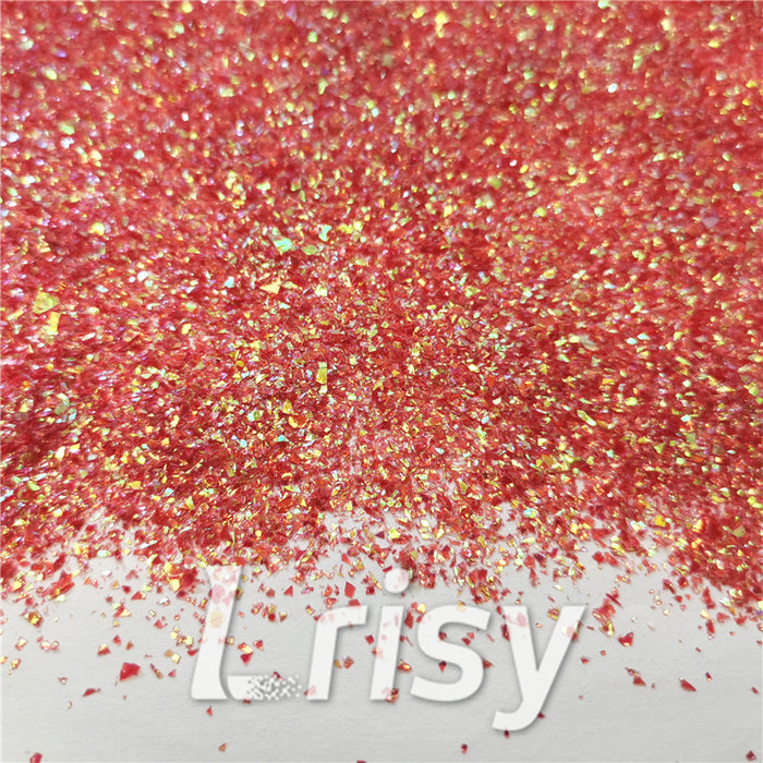 Iridescent Cellophane Glitter Flakes Shard C008