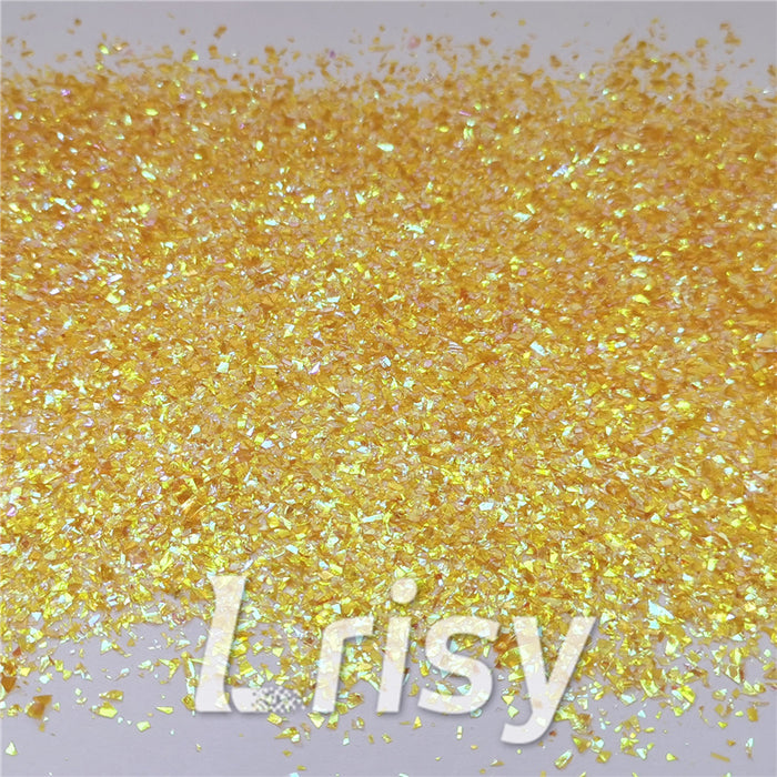 Iridescent Cellophane Glitter Flakes Shard C012