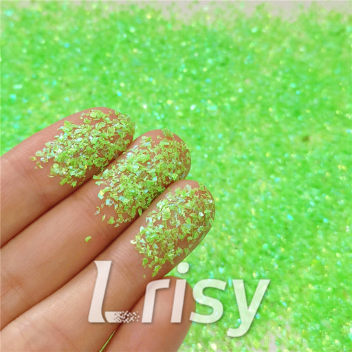 Iridescent Cellophane Glitter Flakes Shard C051