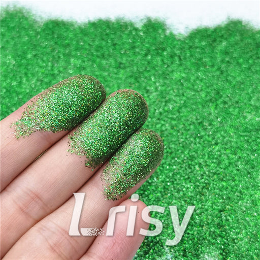 0.2mm Professional Cosmetic Glitter For Lip Gloss, Lipstick Holographic Green FCHL604