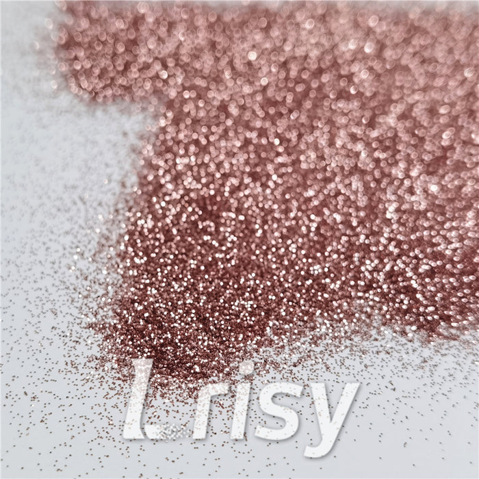 0.2mm Rose Gold Glitter Pure Color B0230