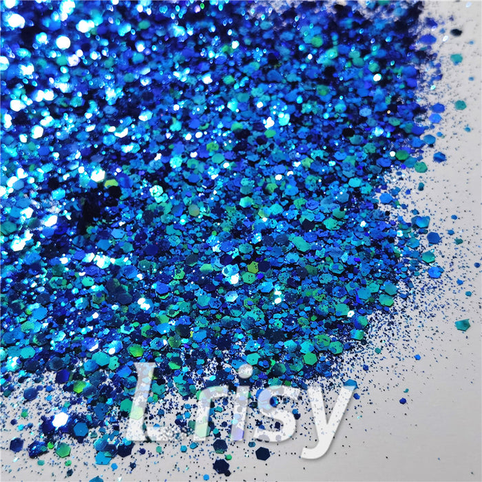 General Mixed Iridescent Phantom Glitter C-BSL007