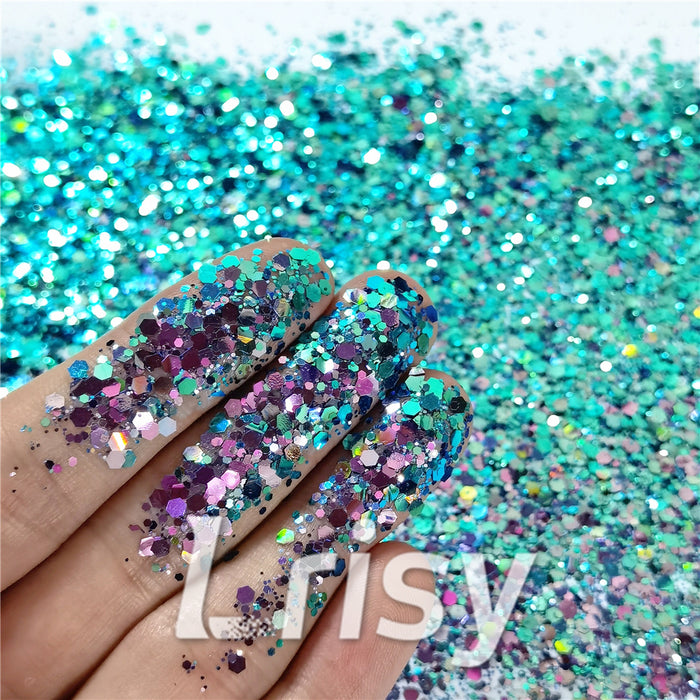 General Mixed Iridescent Phantom Glitter C-BSL7140