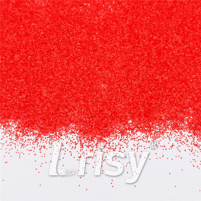 0.4mm Pearl Red Matte Solvent Resistance Glitter FC-GS006