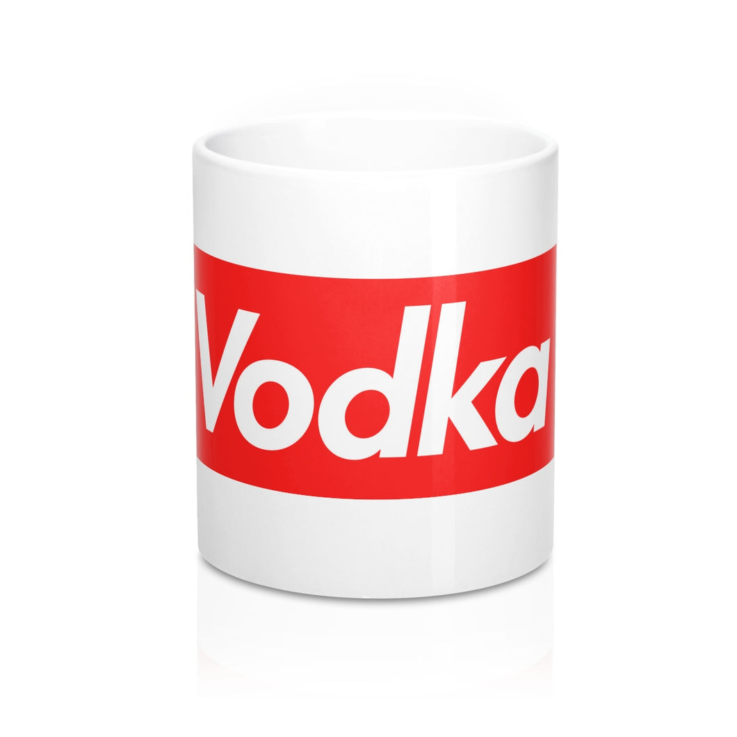 Red Box Vodka Logo Mugs