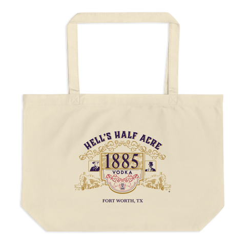 Hell's Half Acre Vodka Large Organic Tote Bag