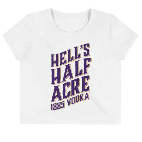 Hell's Half Acre 1885 Vodka Cropped T-shirt