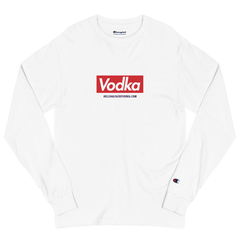 HHA Box Logo Men's Champion Long Sleeve Shirt