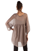 Sheer Two Piece Baby Doll Tunic