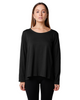 Amici Long Sleeve Pleat Back Tee