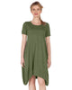Midi Flyaway T-Shirt Dress