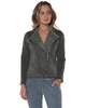 Khaki Moto Jacket - Baci Fashion