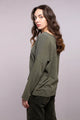 Crepe de Chine Long Sleeve Tee