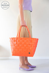 Bientôt -  Cabas Paris coral orange
