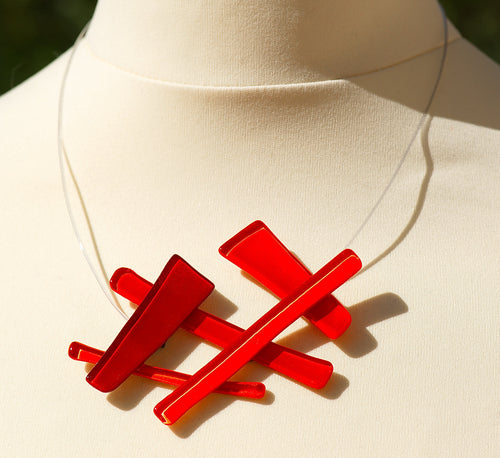 Collier 6336 - Rouge