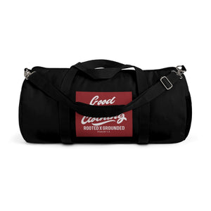 """Box Logo"" Duffle Bag-Black"