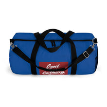 """Box Logo"" Duffle Bag-True Blue"