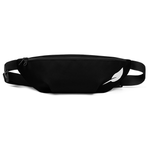 """LEAF LOGO"" Fanny Pack-Black"