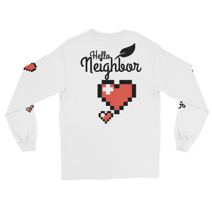 """Love Thy Neighbor"" Men's Long Sleeve Shirt"