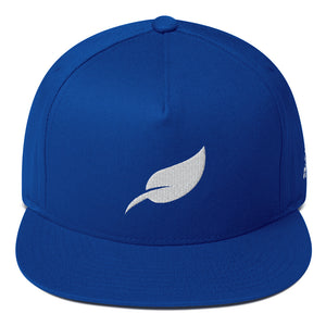 """LEAF LOGO"" Flat Bill Cap"
