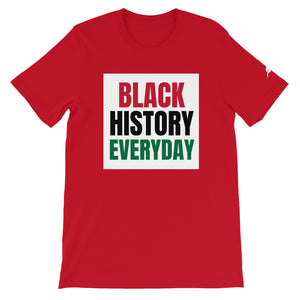 """BLACK HISTORY"" Short-Sleeve Unisex T-Shirt"