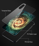 Tempered Glass Luxury Phone Case