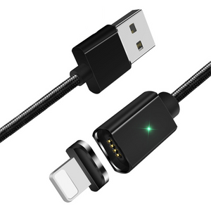 Magnetic USB Cable Black