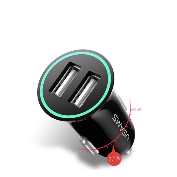 Car-Charger Max 2.1A  Double USB