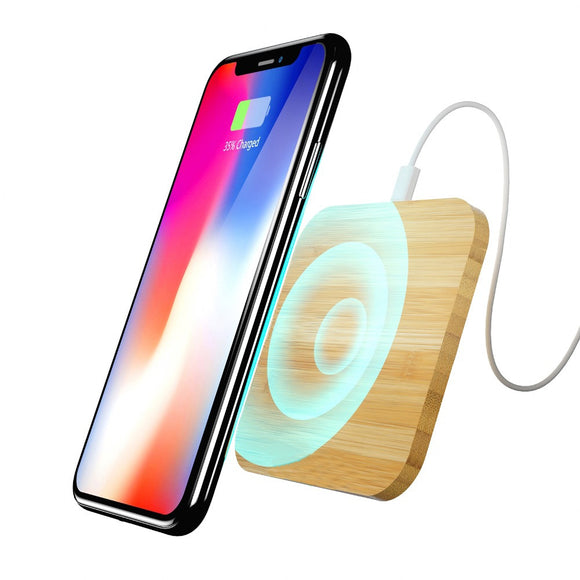 Wireless Charger Wood Pad