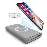 Qi Wireless Power bank & Charger 10000mAh