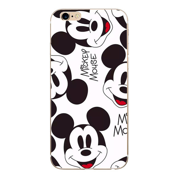 Cartoon Soft Silicone Phone Case