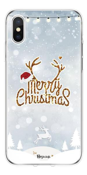 Merry Christmas Soft Silicone Phone Case (Also iPhone X XR XS XS Max)