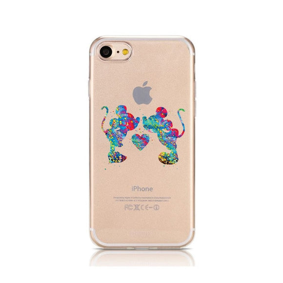 Cartoon Soft Silicone Phone Case (Also iPhone X XR XS XS Max)