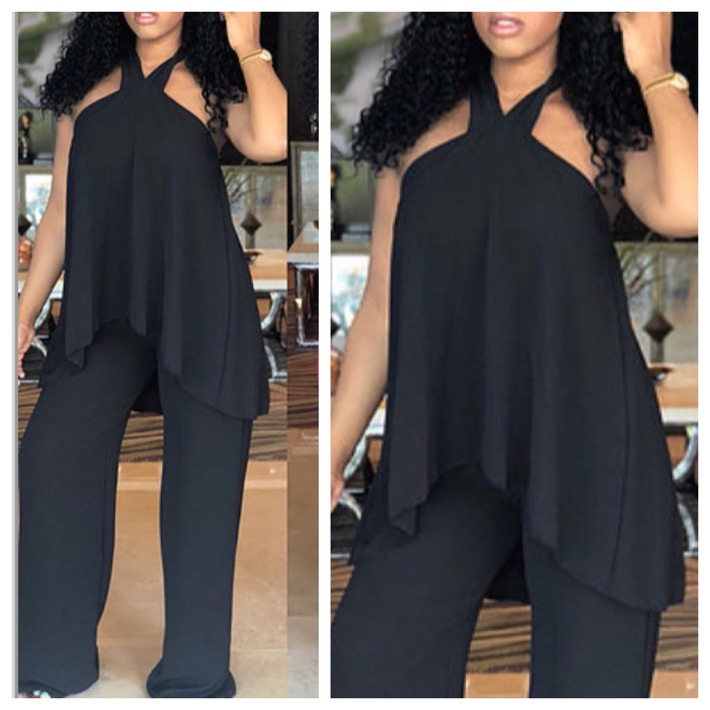 Kira Halter Jumpsuit , Jumpsuit, - Closet Envy Boutique, women's fashion