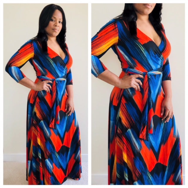 Bold & Beautiful Maxi Dress , dress, - Closet Envy Boutique, women's fashion