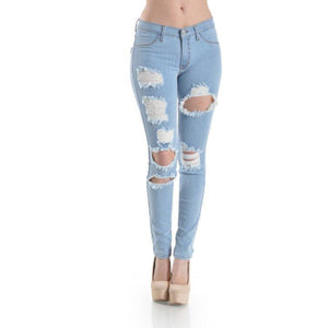 Distressed Denim , BOTTOMS, - Closet Envy Boutique, women's fashion