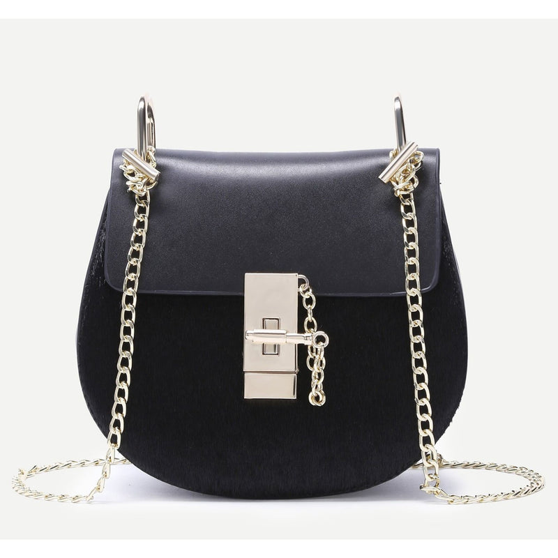 Chloe Inspired Lock Bag , handbag, - Closet Envy Boutique, women's fashion