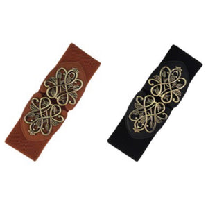 Leaf Scroll Buckle Belt , belts, - Closet Envy Boutique, women's fashion